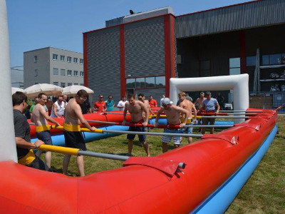 Elmet Elastomere spare time - employee summer party in 2015