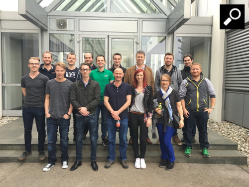 Elmet Elastomere spare time - employee factory visit at ENGEL in St. Valentin-team-small