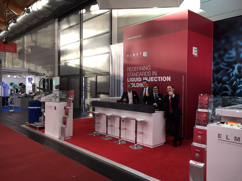 The Elmet Team at the Fakuma Fair 2017 in Friedrichshafen (Germany) from 17. until 21. October 2017-small