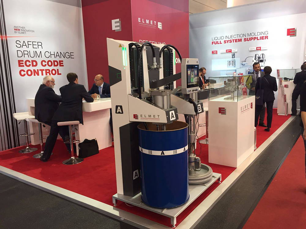 The Elmet Team at the Fakuma Fair 2017 in Friedrichshafen (Germany) from 17. until 21. October 2017-small-image2