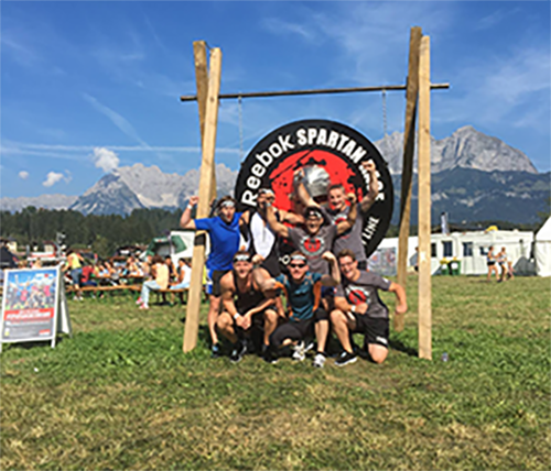 Elmet Elastomere spare time- employee Reebook Spartan Race 2016 in Oberndorf (Tirol)-team-small1